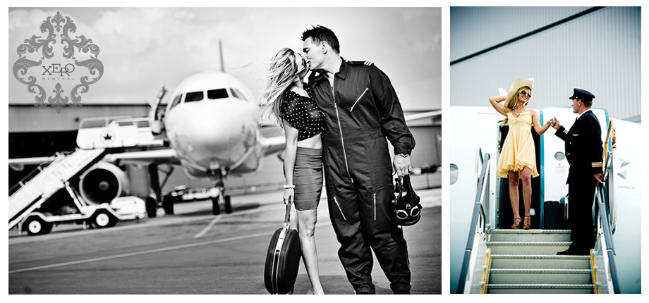 Toronto Wedding Photographers photograph at Pearson Airport.