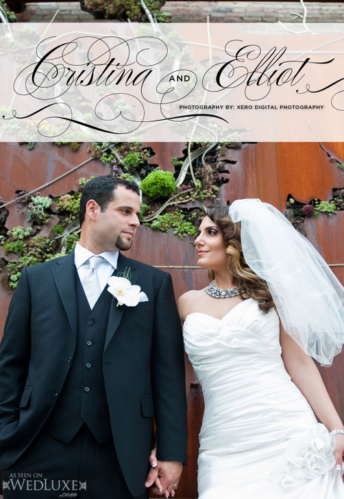 Toronto wedding photographers featured on Wedluxe