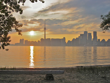Wedding photography Toronto at Ward's Island