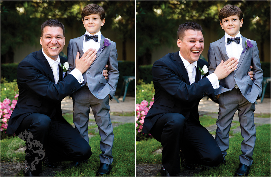 Groom with Ringbearer