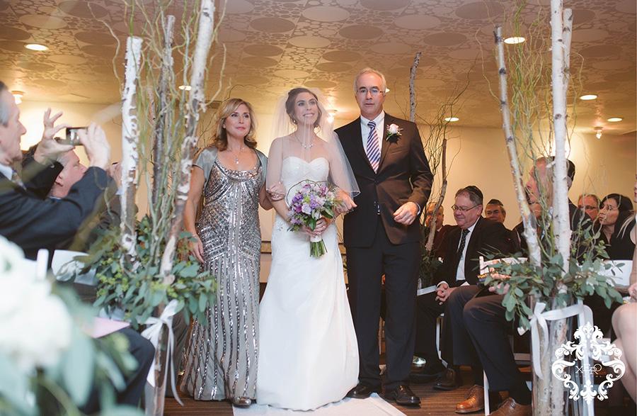 bride seeing her groom | xerodigital.ca