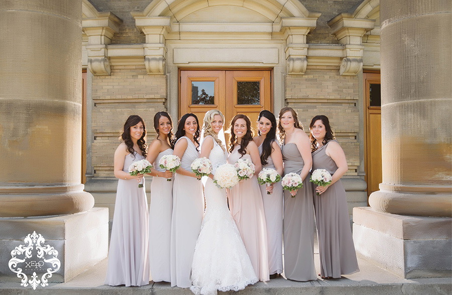 pastel & neutral bridesmaid dresses