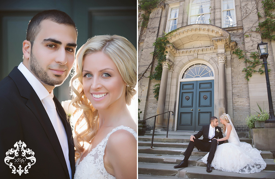 Toronto Wedding Photographer shoots at U of T