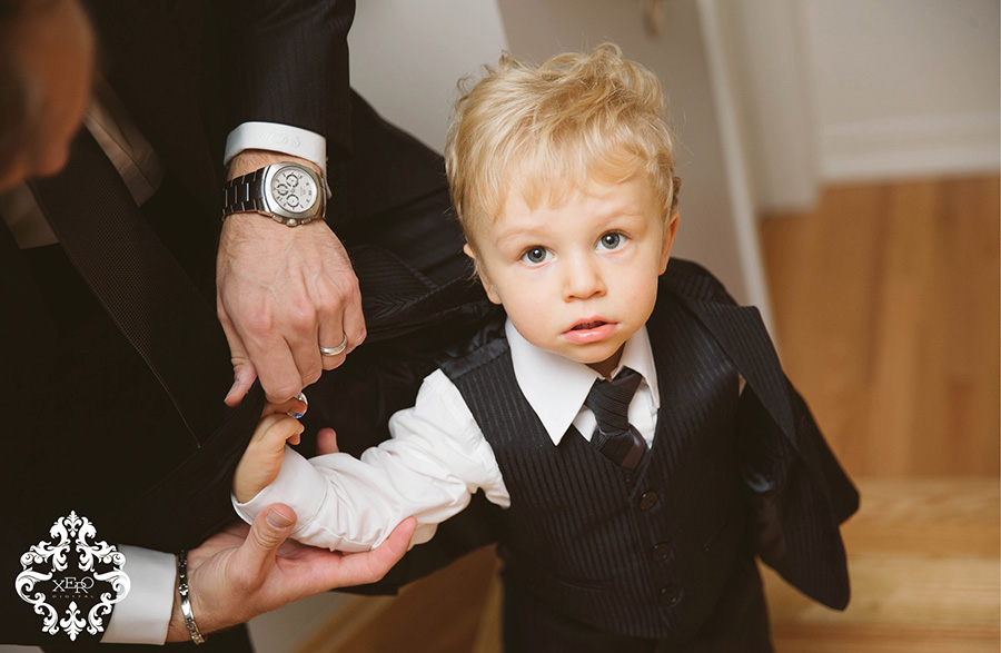 adorable ring bearer